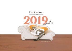 カリカリーナカレンダー 2019